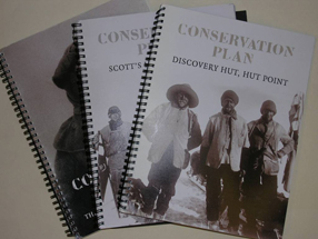 Booklets of hut conservation plans