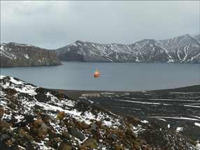 Deception Island and Whaling station